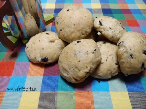 Panini fatti in casa con le olive