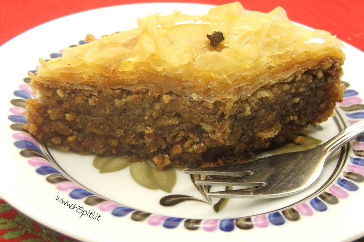 Baklavas il pi tradizionale dolce natalizio greco la for Siti ricette dolci